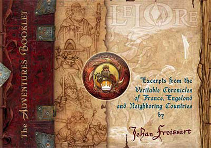 Adventure Booklet Cover