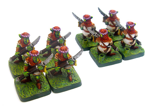 Goblin Spear Bearers